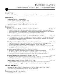 exle resume for college internship internship resume format