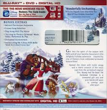beauty and the beast the enchanted christmas blu ray