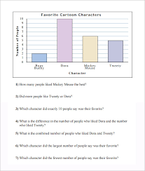 40 interpreting graphs worksheet bar graph bar graphfirst grade