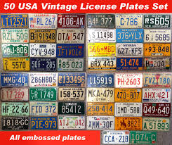 License Plate Usa Map by License Plates States Usa Best Plate 2017