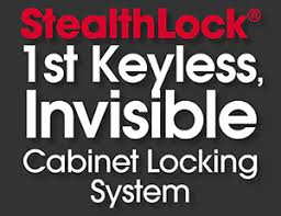 Locked Liquor Cabinet What Is Stealthlock The 1st Keyless Invisible Cabinet Locking