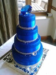 Royal Blue Wedding The 25 Best Royal Blue Large Wedding Cakes Ideas On Pinterest