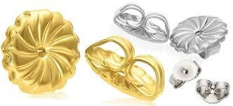 gold earring backs 8 best earring backs to buy jewelry secrets