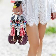 Boho Chic Boheme The Fashion Files Boho Chic Gladiator Sandals The Style Files