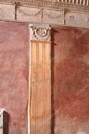 antike wandgestaltung römische wandgestaltung stockfoto 83320262