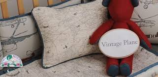Airplane Crib Bedding Vintage Plane Crib Bedding Baby And