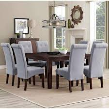 Gray Dining Chairs  Benches Kitchen  Dining Room Furniture - Grey dining room chairs