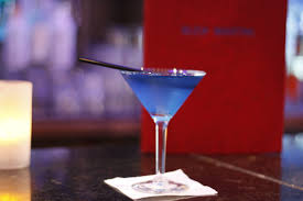 martini fancy home bleu martini