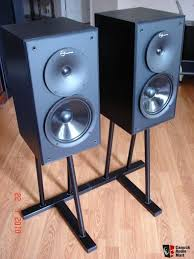 Bookshelf Speaker Sale Nuance High End Bookshelf Speakers With Matching Stands For Sale