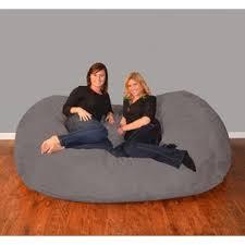 microfiber bean bag chairs you u0027ll love wayfair