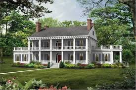 colonial home plans colonial plantation style house plan 137 1375