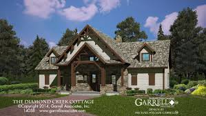cottage bungalow style homes house plans lake rustic country diamond creek cottage house plan plans by garrell rustic french 14058 front elev rustic cottage house