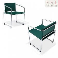 fauteuil cuisine fauteuil cuisine salle à manger design structure métal chromé curve
