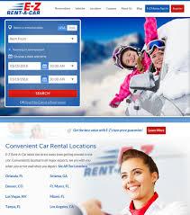 car rental website design online reservation ux design