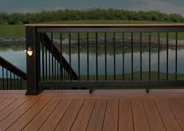 Banister Options Deck Railing Composite U0026 Aluminum Deck Railing Timbertech
