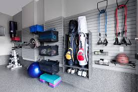 in a garage how to turn your garage into a fitness room