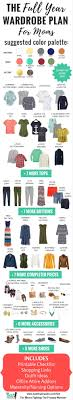 over 40 work clothing capsule mom s capsule wardrobe plan for all year creates 230 outfits free
