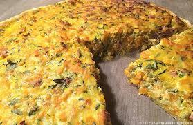 que cuisiner avec des courgettes tarte aux courgettes et carottes à la ricotta