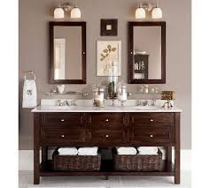 pottery barn bathrooms ideas mercer glass shelf pottery barn