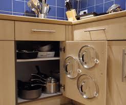 kitchen corner cupboard storage solutions sleek white half egg bar