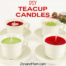 tea cup candles diy teacup candles as gifts with recycled candles maker
