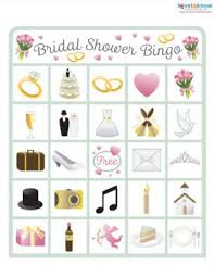 wedding words for bingo free printable bridal shower