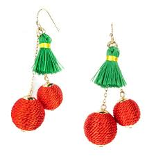 dangle earrings tropical fruit dangle earrings pineapple shopsmth small