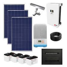 complete solar power kits for homes small to large