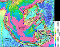 global map earth global map of the shuttle radar topography mission srtm plotted
