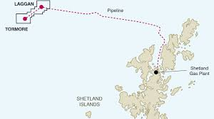 Shetland Islands Map France U0027s Total Launches Major Offshore Gas Project Near Shetland