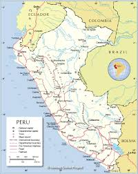 Political Map Of Latin America by Political Map Of Peru Nations Online Project