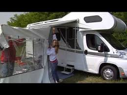 Motor Home Awning How To Install A Fiamma Privacy Room To Your F45 Motorhome Awning