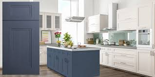 grey stained shaker kitchen cabinets fashion blue shaker recessed panel assembled kitchen