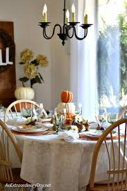 Simple Thanksgiving Table Settings How To Create A Simple Elegant Thanksgiving Table Cheaply An