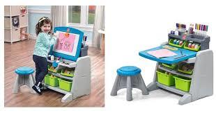 step2 flip u0026 doodle easel desk u0026 stool only 45 99 free shipping