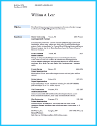 Carpenter Sample Resume by Project Engineer Resume Pdf Best Free Resume Collection