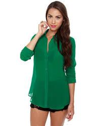 green blouses krystle krystle