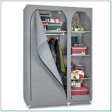 freestanding canvas wardrobe closet torahenfamilia com free