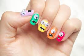Beauty Adorkable Monster Nails Natiatheart