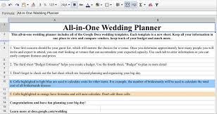 wedding planner prices wedding planning templates free weddings234