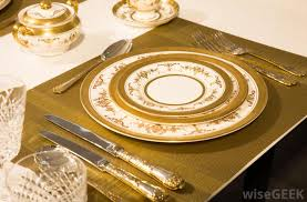 Formal Setting Of A Table What Is Dining Etiquette With Pictures