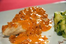 cuisiner aiguillette de poulet aiguillettes de poulet sauce crémeuse au chorizo