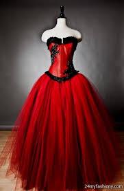 Red And Black Wedding Simple Red And Black Wedding Dresses 2016 2017 B2b Fashion