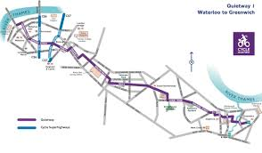 Greenwich England Map by I Did It The Quietway U2013 Deserter