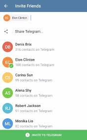 telegram apk file telegram 4 3 adds better replies in groups a new contact invite