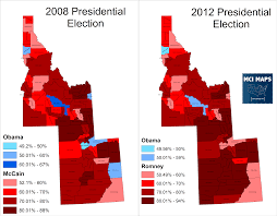 2004 Presidential Election Map by 2016 President U2013 Mci Maps