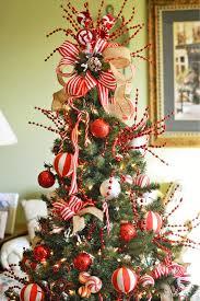Christmas Tree Ribbon Decorating Hobby Lobby Pre Lit Christmas Trees Christmas Lights Decoration