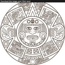 aztec calendar clip art u2013 clipart free download