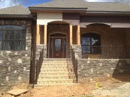front porch with cedar columns the carolina carpenter