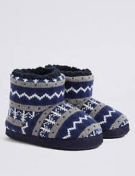 boys slippers boys moccasin slippers slipper boots m s